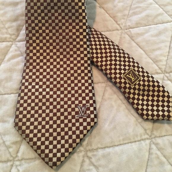 ea8c051af046 Louis Vuitton Accessories | Tie Damier Classique Collection | Poshmark